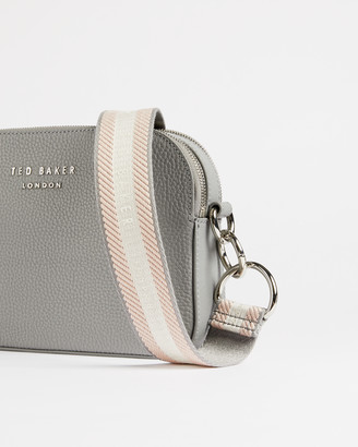 Ted Baker AMERRAH Leather webbing strap camera bag