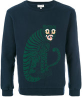 Paul & Joe tiger print sweatshirt