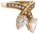 FANTASIA 14K Cubic Zirconia Ring