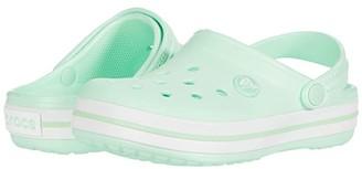 Crocs Crocband Clog (Toddler/Little Kid) (Neo Mint) Kids Shoes