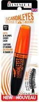 Rimmel Scandaleyes Curved Brush Mascara, Black, 0.41 Fluid Ounce
