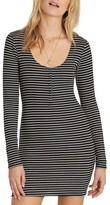Billabong Women's Right Side Henley Minidress
