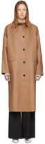 Kassl Editions Tan Rubber Coat