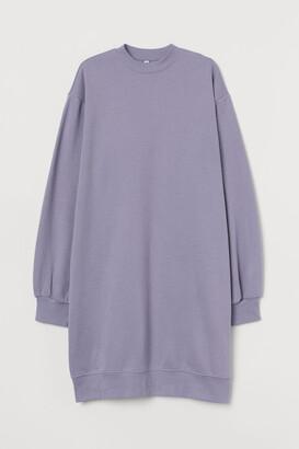 H&M Sweatshirt Dress - Purple