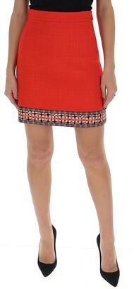 Gucci Jacquard Hem Mini Skirt