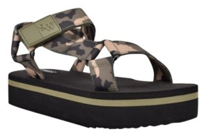 Nine West Women's Camping Platform Retro Sandals Women's Shoes