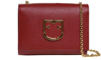 Furla Shoulder Bag Viva Mini In Leather Color Giliegia