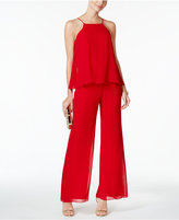 MSK Tiered Halter Jumpsuit