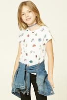 Forever 21 Girls Feelin Good Tee (Kids)
