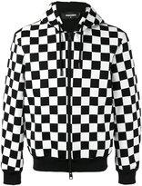 DSQUARED2 checkboard print jacket - men - Viscose - M