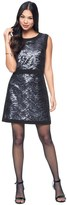 Juicy Couture Wavy Sequin Shift Dress