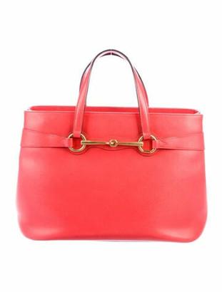 Gucci Medium Bright Bit Top Handle Bag gold