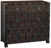 Pulaski Nate 4-Drawer Metallic Crocodile Texture Dresser
