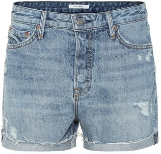 GRLFRND Kerry high-rise denim shorts