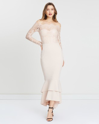 Miss Holly - Women's Nude Bridesmaid Dresses - Gemma Dress - Size One Size, XS at The Iconic