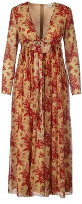 RED Valentino Long Plisse Tapestry