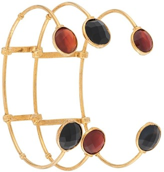 Gas Bijoux Triple Layered Cage Bangle