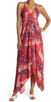 Thumbnail for your product : Love Stitch Giraffe Print Wrap Maxi Dress