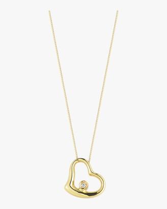 Roberto Coin Baby Diamond Heart Necklace