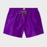 Paul Smith Men's Violet Swim Shorts