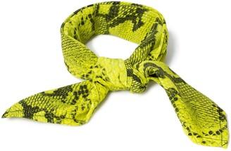 Topman Yellow Snake Print Bandana*