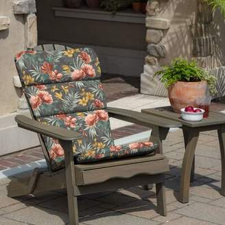 Adirondack Bay Isle Home Phoebe Floral Outdoor Chair Cushion Bay Isle Home