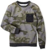 Brooklyn Cloth (Boys 8-20) Camouflage Sweatshirt