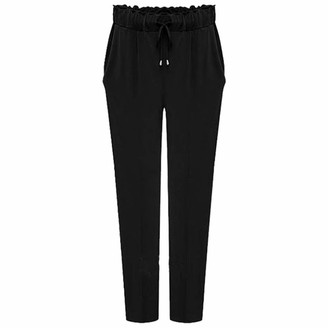 Celucke Women's Harem Plus Size Trouser