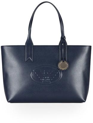 Emporio Armani Dark Blue Shopping Bag