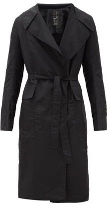 Rick Owens X Champion Belted Technical Trench Coat - Mens - Black