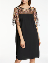 Somerset by Alice Temperley Lily Fireflower Dress, Black