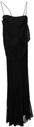 Adam Selman Black Polyester Dresses