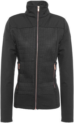 Fusalp Paneled Quilted Shell And Jersey Jacket