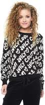 Juicy Couture Jacquard Juicy Love Glam Pullover Sweater