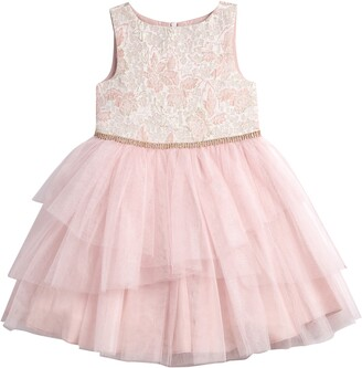 Pippa & Julie Brocade Bodice Tutu Dress