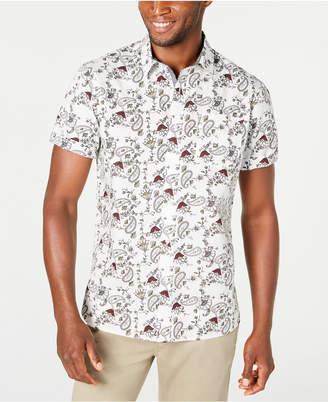 American Rag Men Paisley Floral Shirt