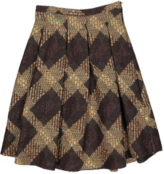 MSGM Brown Skirt for Women