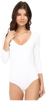 Only Hearts Delicious 3/4 Sleeve V-Neck Bodysuit