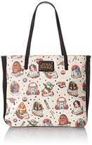 Loungefly Star Wars Tattoo Flash Print Faux Tote Bag