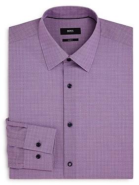 HUGO BOSS Boss Jano Cotton Dobby Slim Fit Dress Shirt