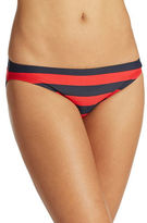DKNY Striped Hipster Bikini Bottom