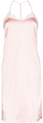 La Perla Maison silk-blend nightdress