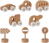 BLOOMINGVILLE KIDS Push-Along Cars & Accessories - Set of 8