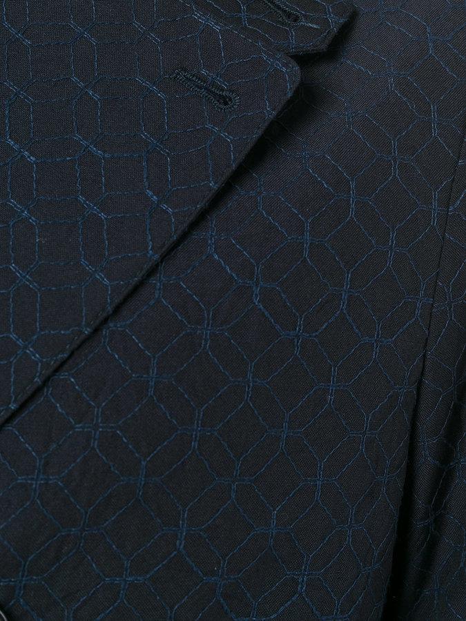 Giorgio Armani embroidery blazer