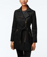 MICHAEL Michael Kors Asymmetrical Coat, Only at Macy's