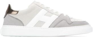Hogan Panelled Low-Top Sneakers