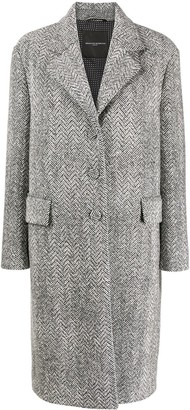 Ermanno Scervino Single-Breasted Tailored Coat