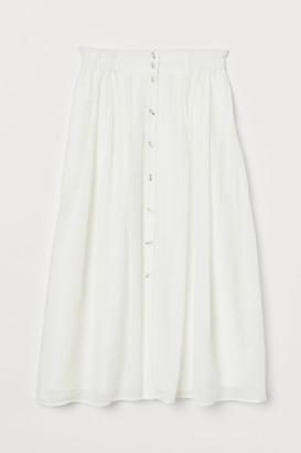 H&M Crinkled skirt