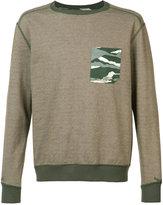 MHI reversible camouflage sweatshirt