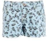 Select Fashion Fashion Womens Blue Skull Print Short - Sizes 6 To 20 - size 10